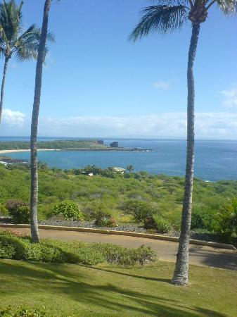 Lanai City, Hawái: View from golf course