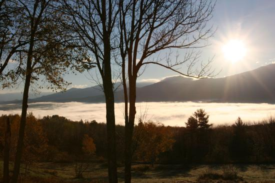 Sugar Hill, NH: Misty Valley Sunrise