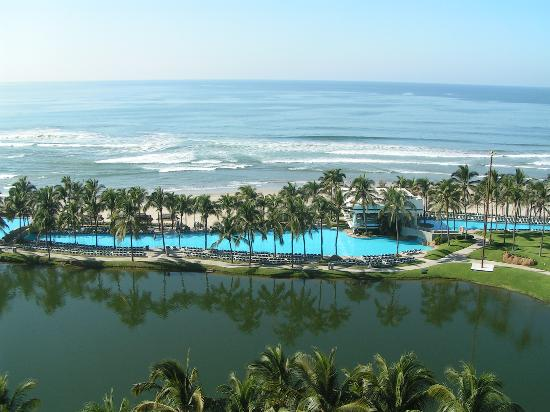view images. Mayan Palace Acapulco: View from the room. Like this photo?