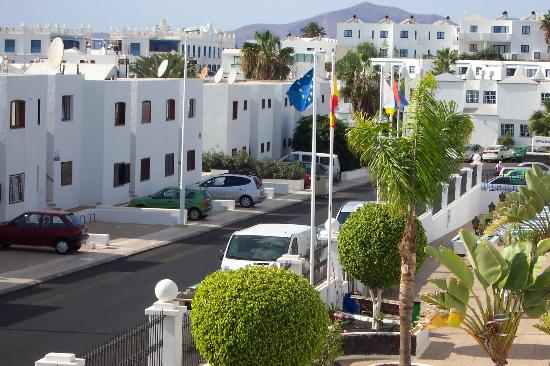 View from the apartment - Apartamentos rosamar lanzarote ...