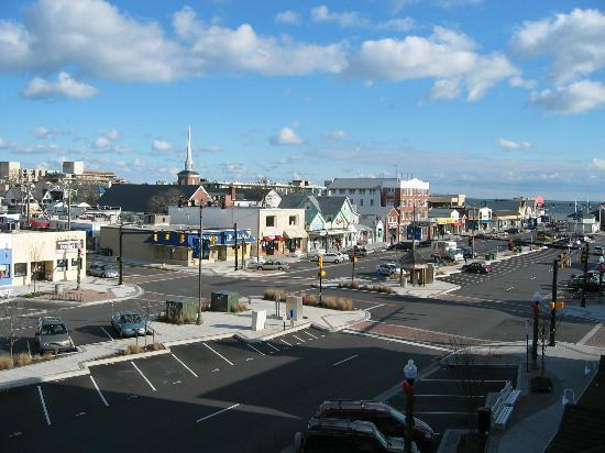 Rehoboth Beach, DE: View from the Balcony