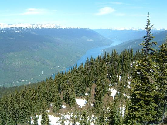 Revelstoke, Canad: Stunning views at the top!