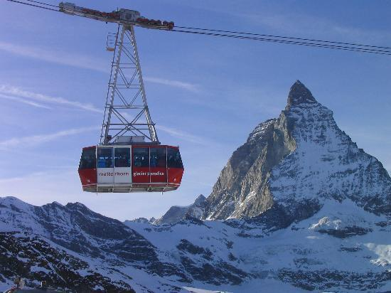 Zermatt, Switzerland: Matterhorn Glacier Paradise Cable Car