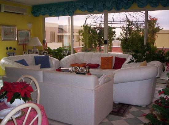 B&amp;B Alghero Lido : The lounge of the apartment 