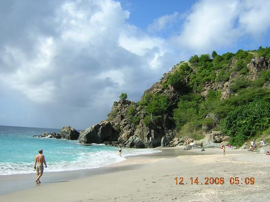 Gustavia, St. Barthlemy: Shell Beach