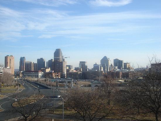 Saint Paul, MN: View of downtown St Paul from my hotel room