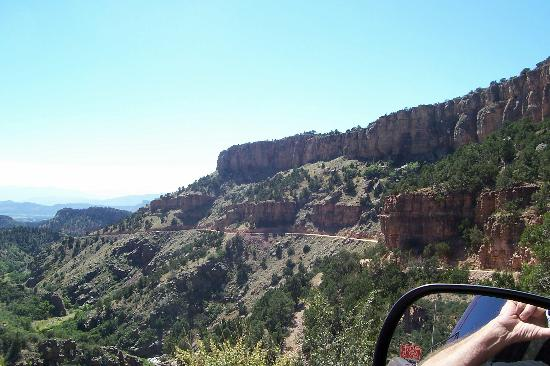 Cripple Creek, Kolorado: SHELF ROAD south