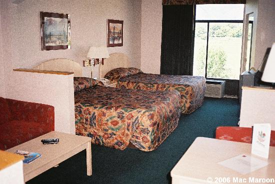 Comfort Suites: A view of the sleeping area