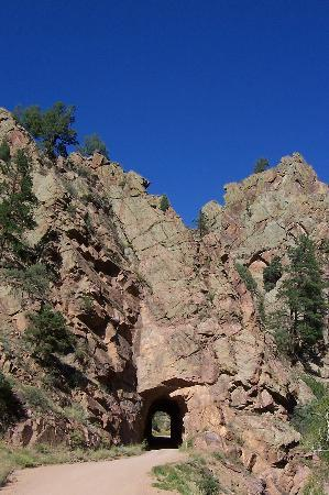 Cripple Creek, CO: Phanton tunnel