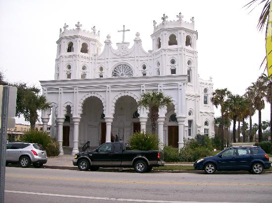 Galveston, TX : Sacred Heart Catholic Church 