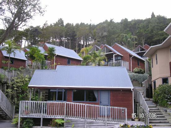 Bay Cabinz Motel: Our cabin is at the top