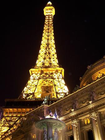 eiffel tower experience at paris las vegas nv hours address