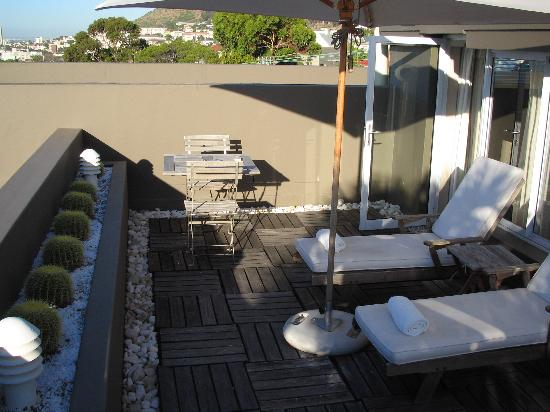 O on Kloof Boutique Hotel: Private deck