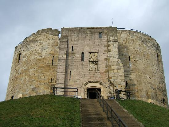 York, UK: Clifford&#39;s Tower