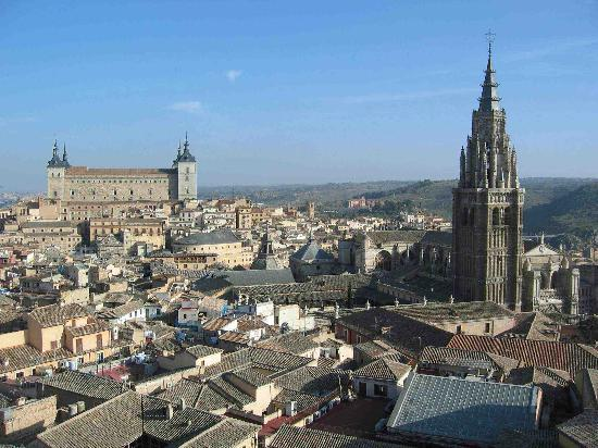 Toledo, Spanien: View from Jesuitas