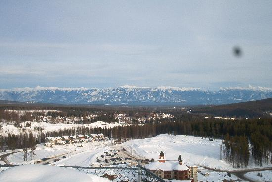 Kimberley, Canadá: View From The Condo We Stayed In