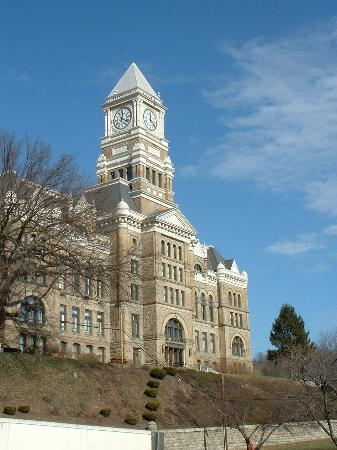 Schuylkill County Courthouse Pottsville Pa Picture Of