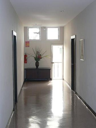 The Sunrise Residence: the hallway on the second floor