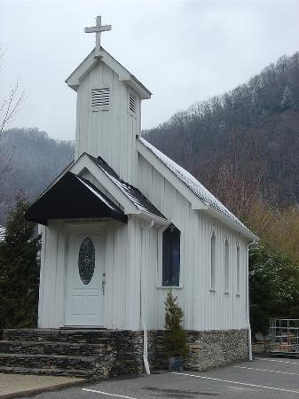 Miss Caroline's church in Maggie Valley