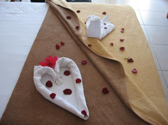 ‪‪Sea Pearl Hotel‬: towel design‬