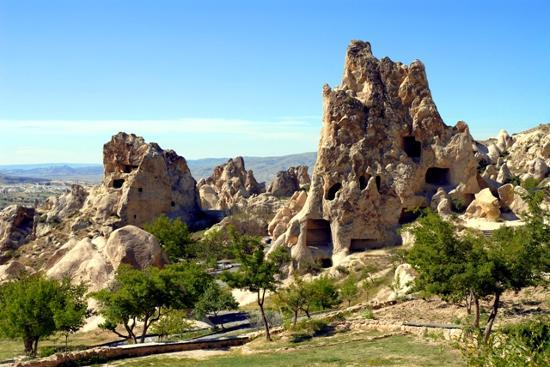 Göreme, Tyrkiet: DId you know a civilisation lived here?