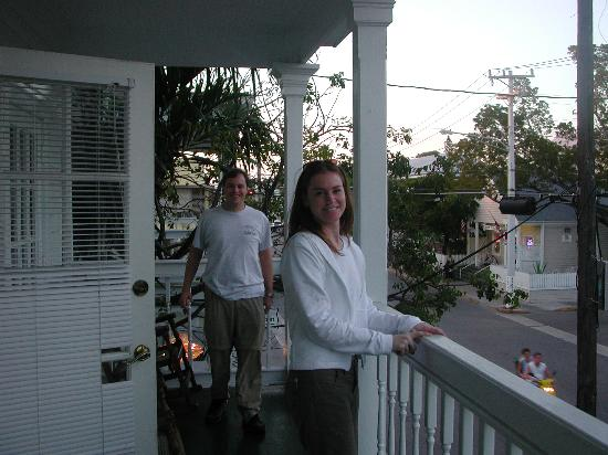 Cuban Club Suites: Rob and Dana on Balcony