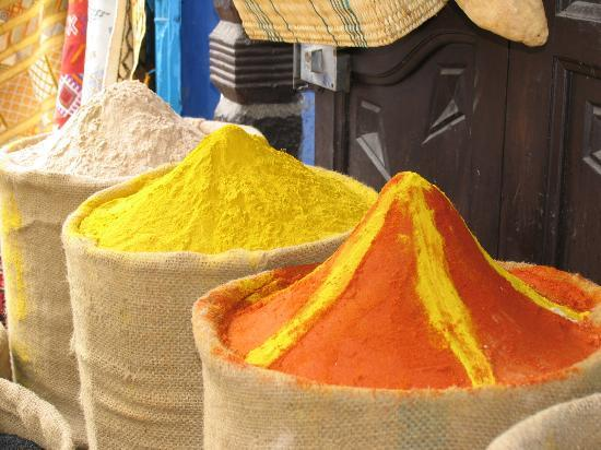 Chefchaouen, Maroko: North Of Morocco - Chefchauen - Spices