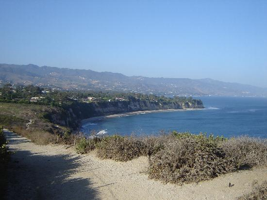 Malibu, : Stunning seaside landscape