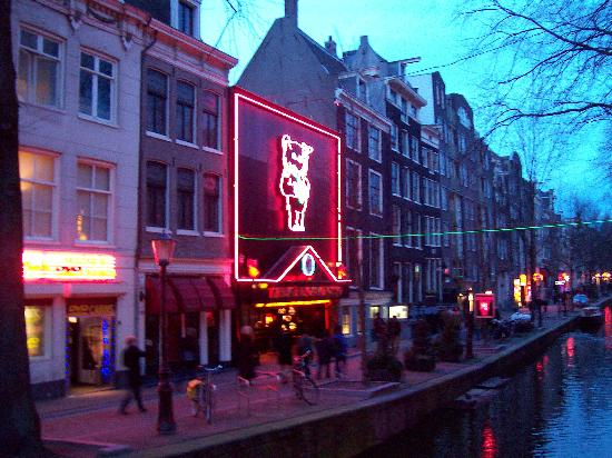 Erotic Museum Picture Of Red Light District Amsterdam