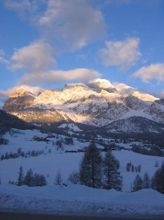 Cortina d'Ampezzo, Italy: View from socrepes