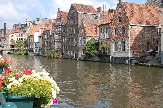 Ghent, Belgium: along the Kraanlei
