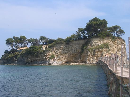 Laganas, Grce : islet 