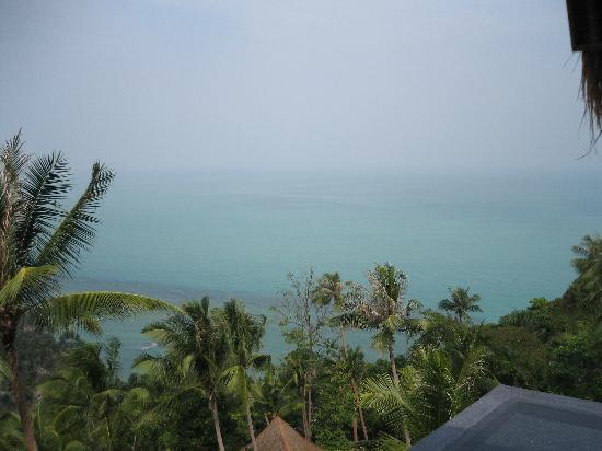 Four Seasons Resort Koh Samui Thailand: fantastic view from the reception area