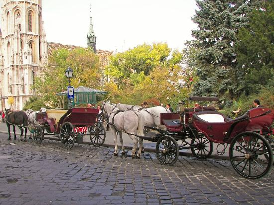 Budapest, Hungary: Entering Castle DIstrict