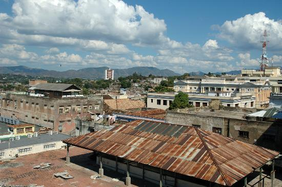 ‪‪Santiago de Cuba‬, كوبا: Rooftop city view‬
