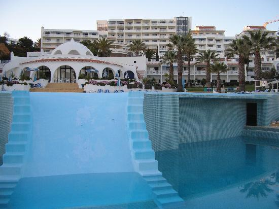 Oura View Beach Club From Lower Main Pool Picture Of Oura View Beach Club Albufeira Tripadvisor