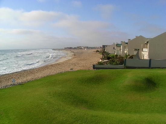Beach Lodge Swakopmund: View from balcony