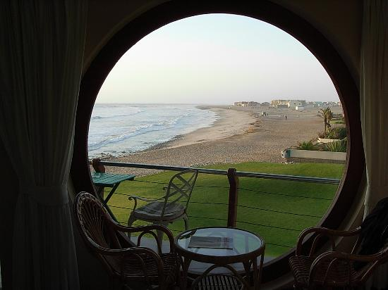 Beach Lodge Swakopmund: View through window