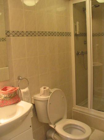 Comfort Inn & Suites Kings Cross: shower room (no bath)