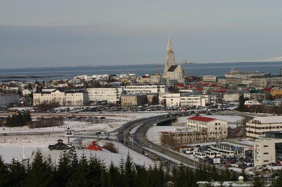Reykjavik, Island: Picture from 'Perlan'