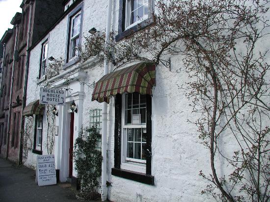 Callander, UK: Front of guesthouse