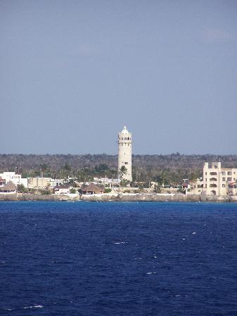 Косумель, Мексика: Cozumel from the ship