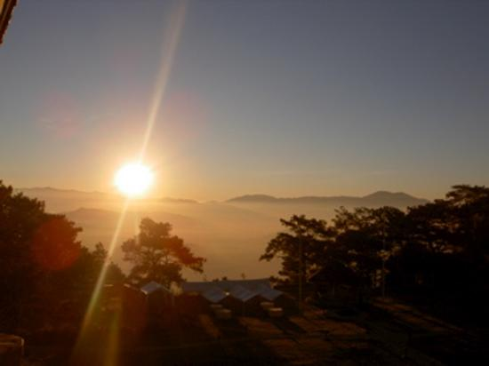 Baguio City at Sunrise