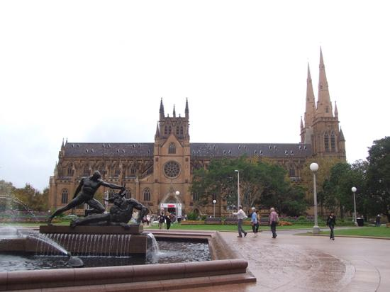 Sydney, Australia: st mary's cathedral where i went for (ancient) mass