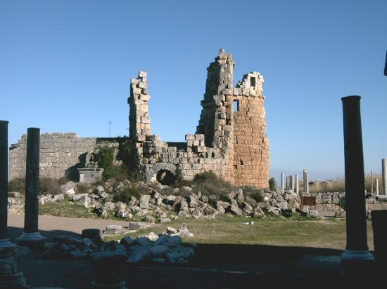 Belek, Turcja: Perge, Ancient roman city