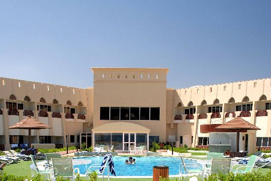 Golden Tulip Resort Dibba: View from the kids playground