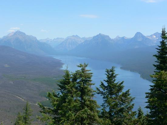 West Glacier, : Apgar Lookout (area hike)