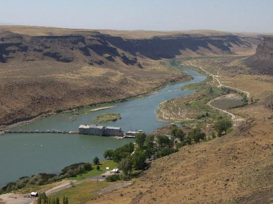 Boise, ID : Swan Falls Dam, Snake River Birds of Prey Area