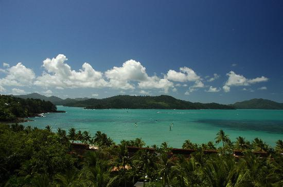 Hamilton Island, Australia: View from level 7