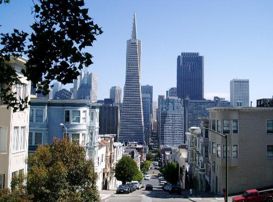 South San Francisco, CA: Returning from Coit Tower